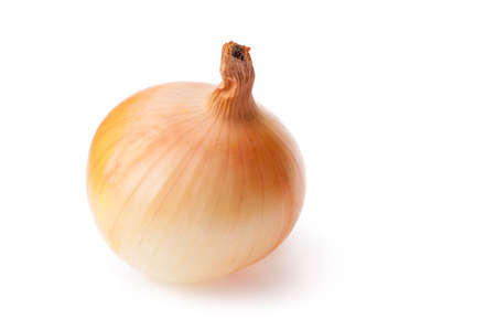 Onions isolate on white background Imagens
