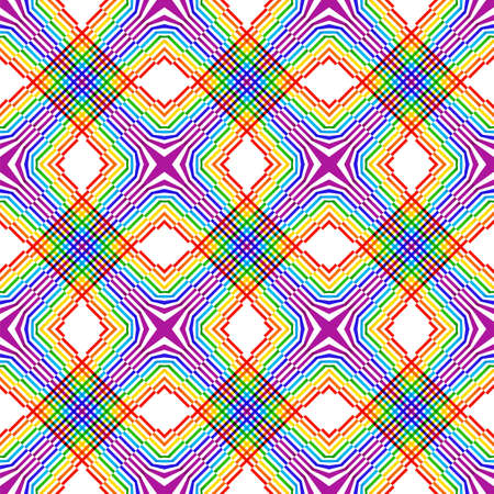 tessellated: Abstract seamless diagonal line pattern Illustration