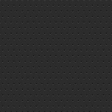 grille: Abstract dotted black metal background, texture, grill