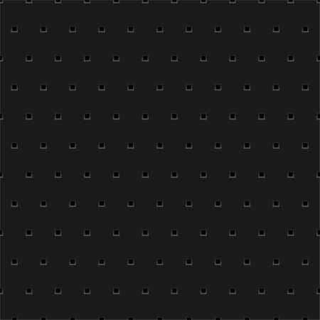 Abstract dotted black metal background, texture, grill Vector