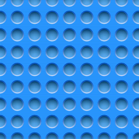 aluminium wallpaper: Blue seamless dotted plastic background