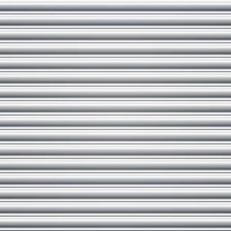 Steel door shutter  Seamless background Stock Vector - 24066739