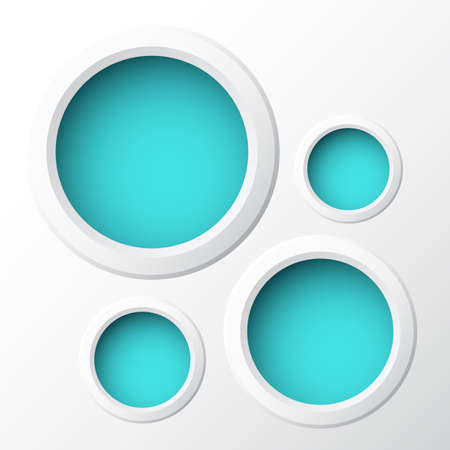 Round paper banners  Perfect for your business presentations
