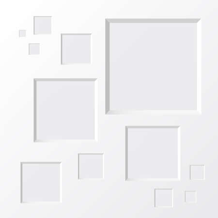 Abstract squares background  Design template
