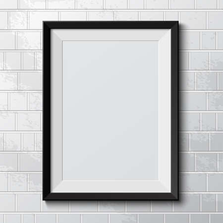 Realistic frame  Perfect for your presentations Stok Fotoğraf - 24545159