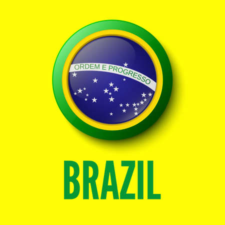 Brazil  Background for your presentations  Vector illustration
