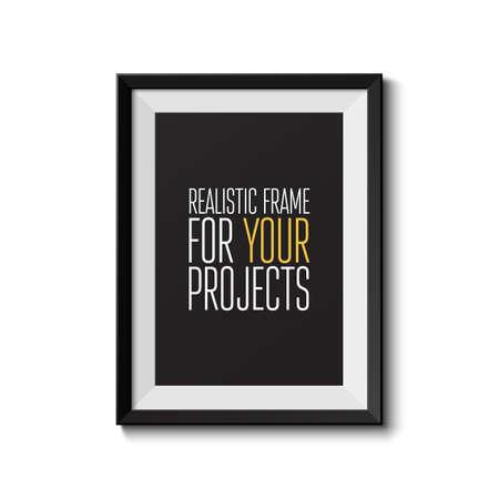 Réaliste image isolée sur fond blanc parfait pour votre présentation Vector illustration