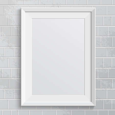 Realistic frame  Perfect for your presentations Vector illustration
