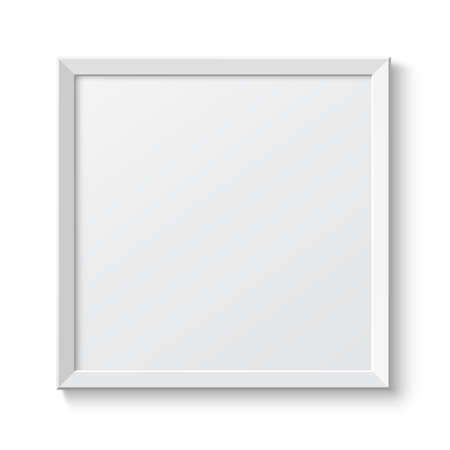 Realistic frame  Perfect for your presentations Vector illustration Vector