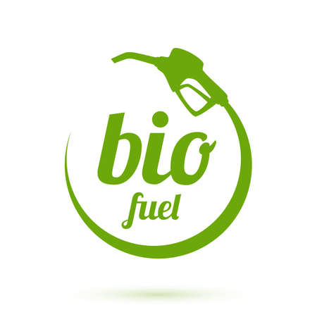 octane: Bio fuel icon illustration Illustration