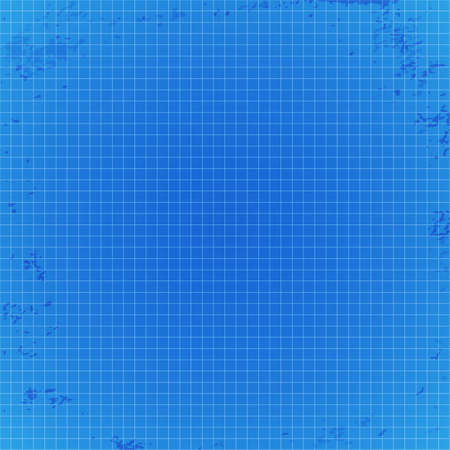 Blueprint background with spots illustration Vector