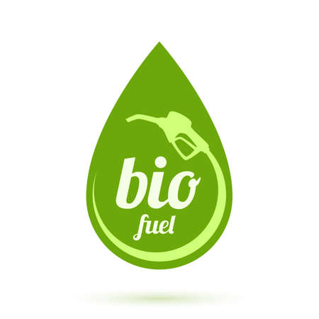 Bio fuel icon illustration Vector