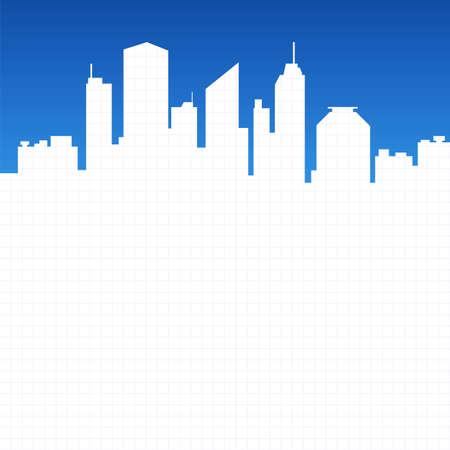 washington dc: Abstract city background illustration