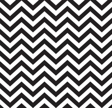 Geometrische zigzag naadloze patroon Vector illustratie Stock Illustratie