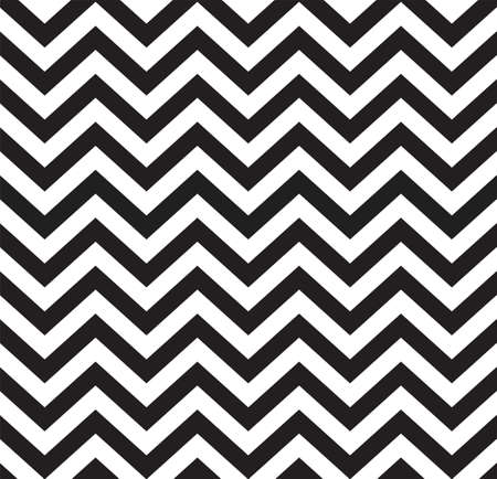 Geometric zigzag seamless pattern  Vector illustration