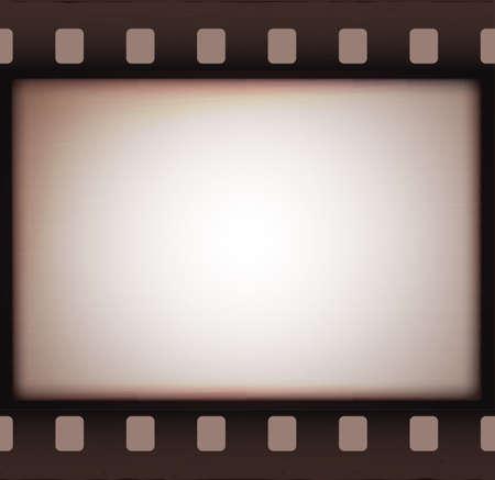 ヴィンテージ レトロな古いフィルム ストリップ背景