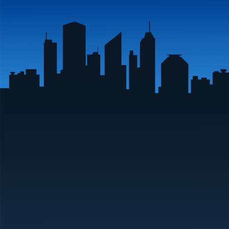 scape: Abstract city background
