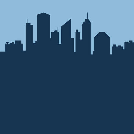 Abstract city background  Vector illustration
