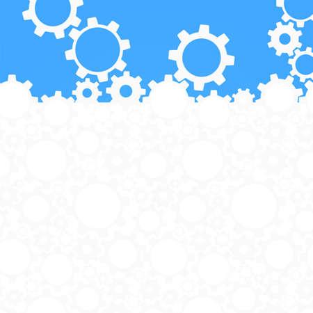 Abstracte gear achtergrond Vector illustratie Stock Illustratie