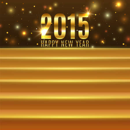 Happy New Year 2015 background with steps
