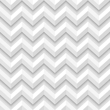 Simple geometric zigzag seamless pattern. Vector illustration