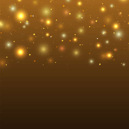 boreal: Background with particles and stars. Space. Vector illustration Illustration
