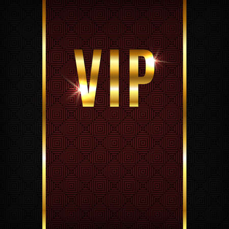VIP background. Perfect for your presentations. Vector illustration