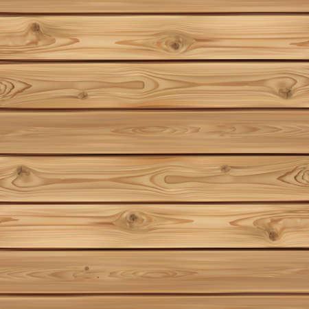 Realistische houten achtergrond. Houten planken. Vector illustratie Stock Illustratie