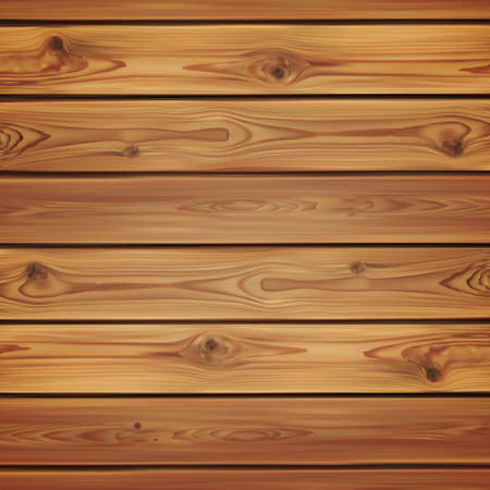 Realistic wooden background. Planks perfect for your presentations. Vector illustration.