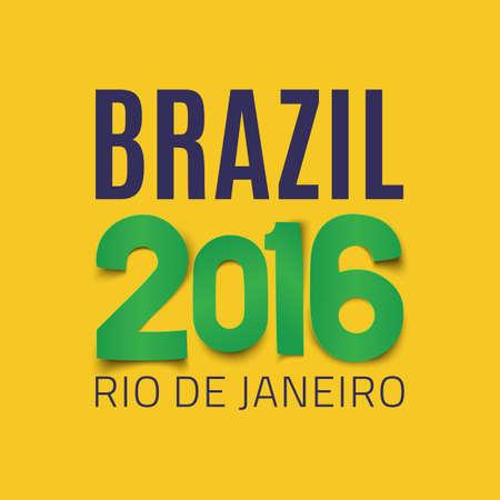 janeiro: Brazil background template. Rio De Janeiro backdrop for your presentations.