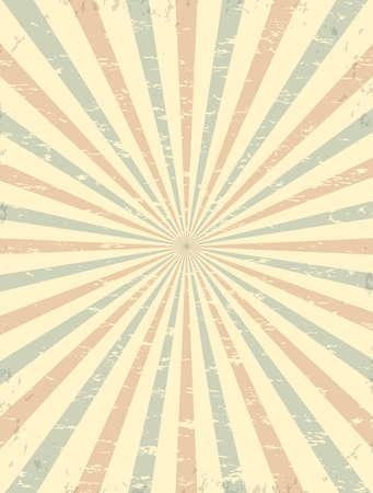 Vintage, Grunge Hintergrund, Vorlage für Zirkus Kirmes Karneval Poster oder Broschüre. Vektor-Illustration. Standard-Bild - 52220112