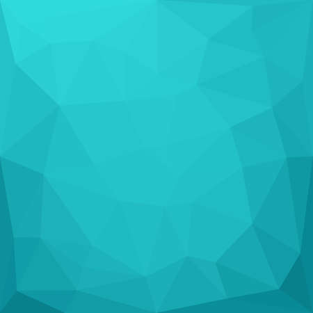 blue background: Abstract geometric polygonal mosaic background. illustration.