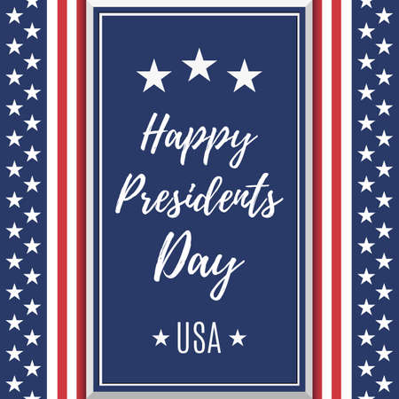 president's: Presidents Day background.