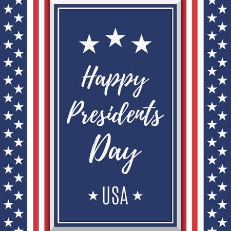 Presidents Day background.