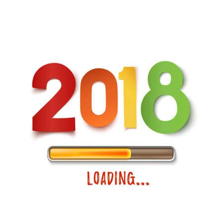 Happy New Year 2018 loading.