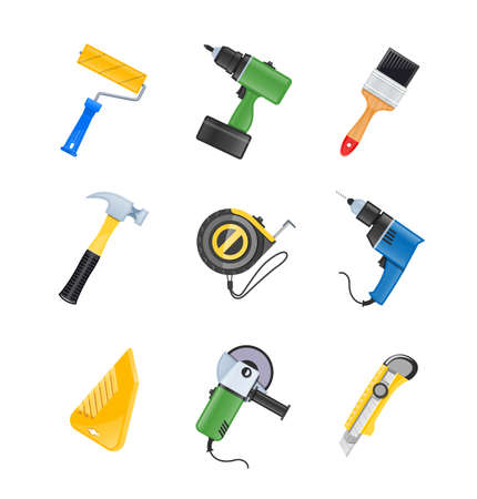 palette knife: building tool icon  isolated on white background. Transparent objects and opacity masks used for shadows and lights drawing