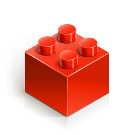 building blocks: brick meccano toy