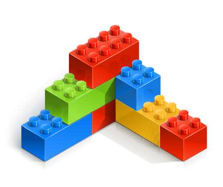 toy: brick wall meccano toy