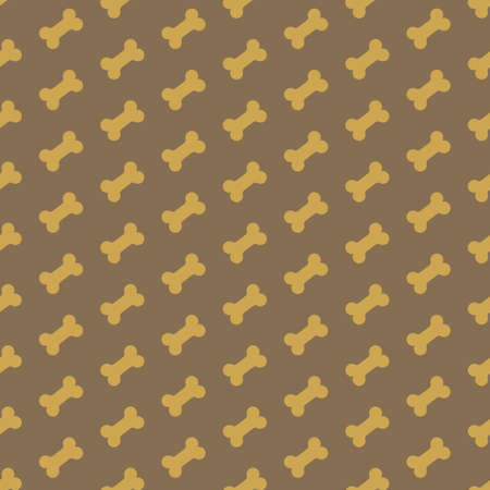 fodder: bone for dog seamless texture vector illustration