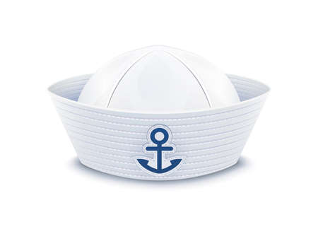 beach wear: Sailor cap.