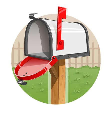 Mail box.  Vettoriali