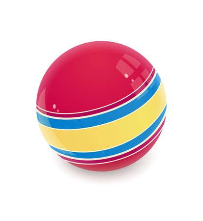 childs: Ball. Childs toy. Eps10 vector illustration Illustration