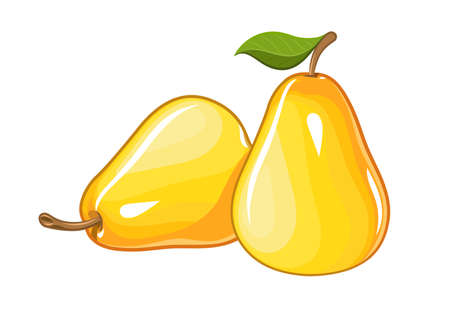 pear: Juicy ripe pear
