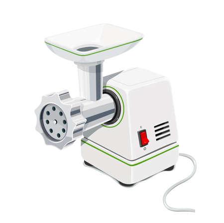 mincer: Electric Meat grinder Illustration