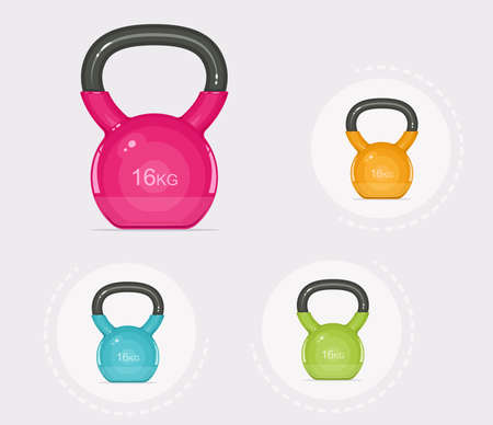 Kettlebells Illustration