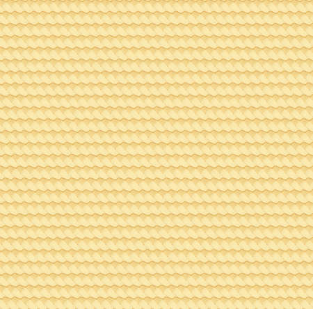 Textura abstracta de paja. Estera de mimbre con barbas. Patrón sin fisuras de bambú natural. Superficie de mimbre cesta. Alfombra de caña de mimbre. Ilustración de vector. EPS 10