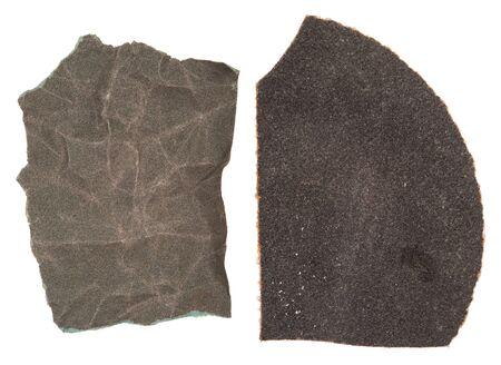 sandpaper: Pieces of sandpaper
