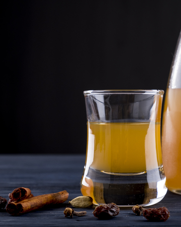 Mead alcohol drink.