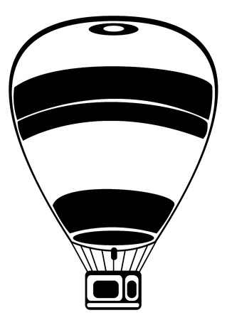 balloon isolated on white background Vector