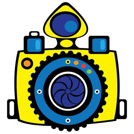 lomo: youth camera isolated on white background